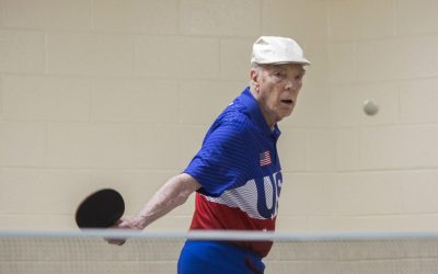 """It's good fun"": Local ping pong guru says sport can keep seniors sharp"